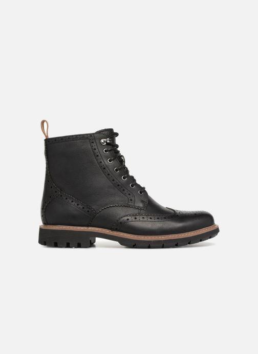 Bottines et boots Clarks Batcombe Lord Noir vue derrière