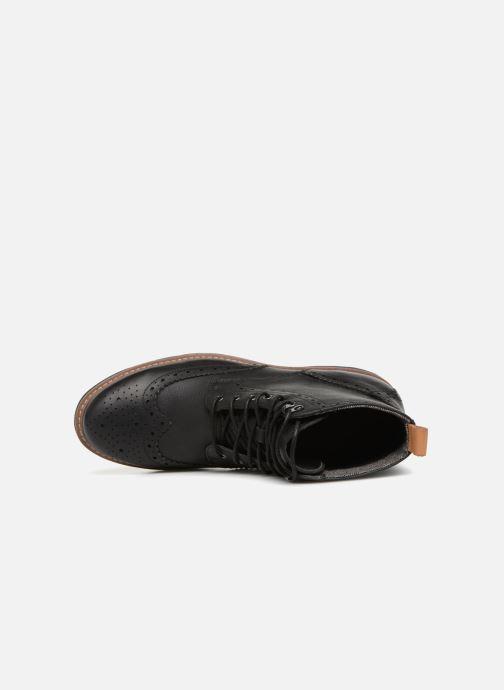Bottines et boots Clarks Batcombe Lord Noir vue gauche