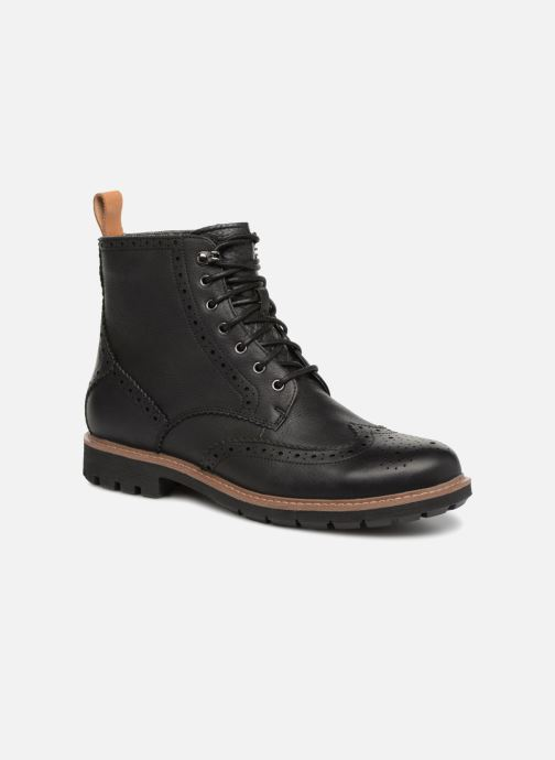 Boots en enkellaarsjes Clarks Batcombe Lord Zwart detail