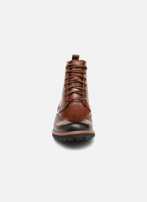 Ankle boots Clarks Batcombe Lord Brown model view