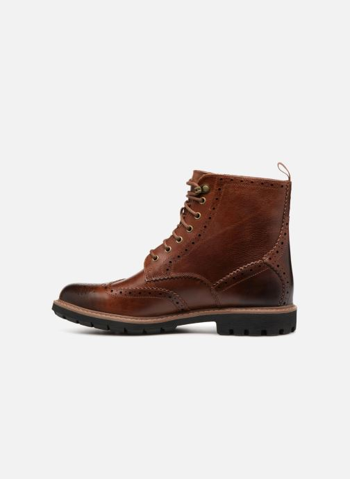 Ankle boots Clarks Batcombe Lord Brown front view