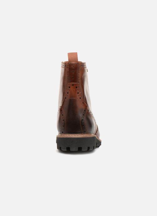 Bottines et boots Clarks Batcombe Lord Marron vue droite
