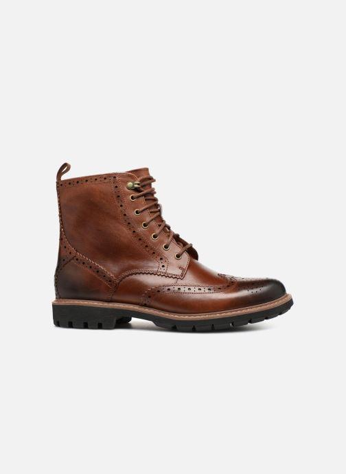Boots en enkellaarsjes Clarks Batcombe Lord Bruin achterkant