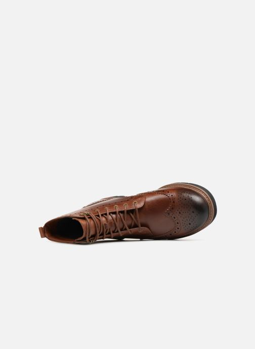 Ankle boots Clarks Batcombe Lord Brown view from the left