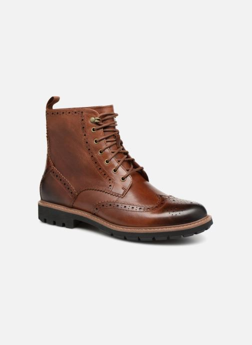 Bottines et boots Clarks Batcombe Lord Marron vue détail/paire