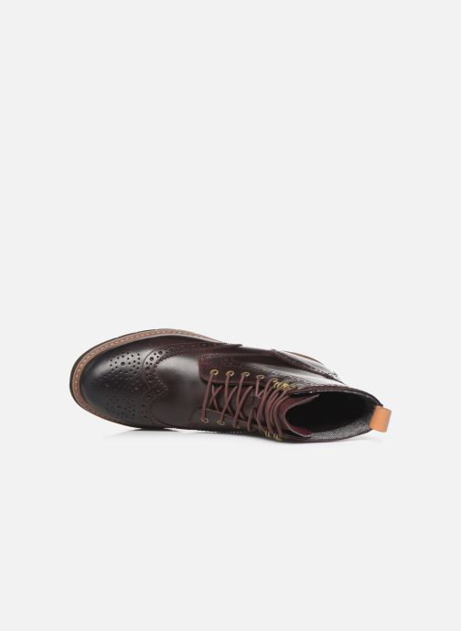 Bottines et boots Clarks Batcombe Lord Marron vue gauche