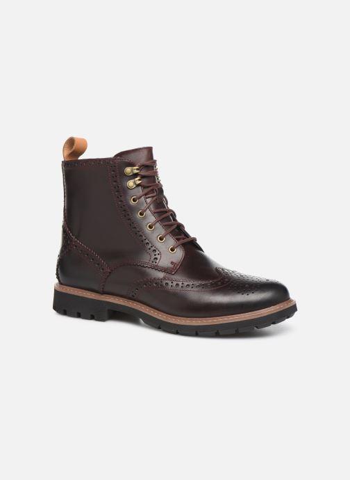 Ankelstøvler Clarks Batcombe Lord Brun detaljeret billede af skoene