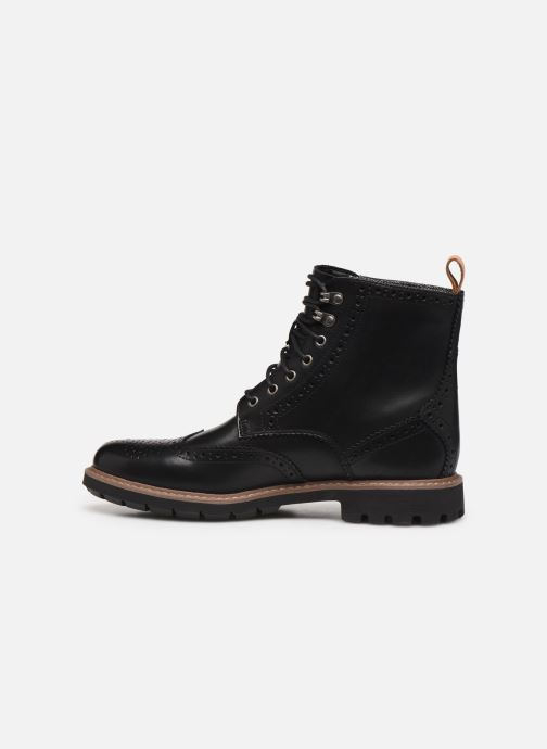Bottines et boots Clarks Batcombe Lord Noir vue face