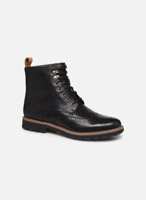 Bottines et boots Clarks Batcombe Lord Noir vue détail/paire