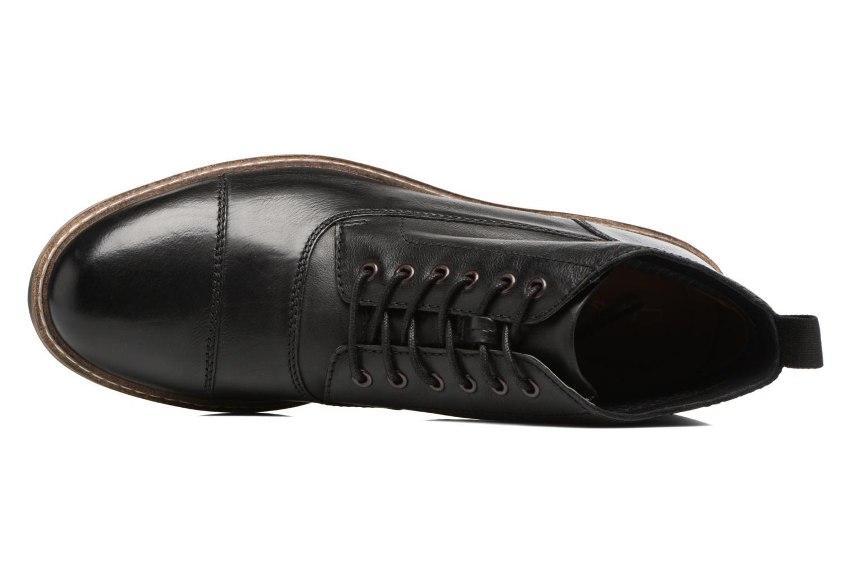 Bottines et boots Clarks Blackford Cap Noir vue gauche