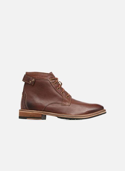 Boots en enkellaarsjes Clarks Clarkdale Bud Bruin achterkant