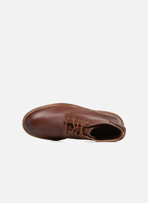Boots en enkellaarsjes Clarks Clarkdale Bud Bruin links