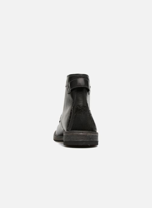 Ankle boots Clarks Clarkdale Bud Black view from the right