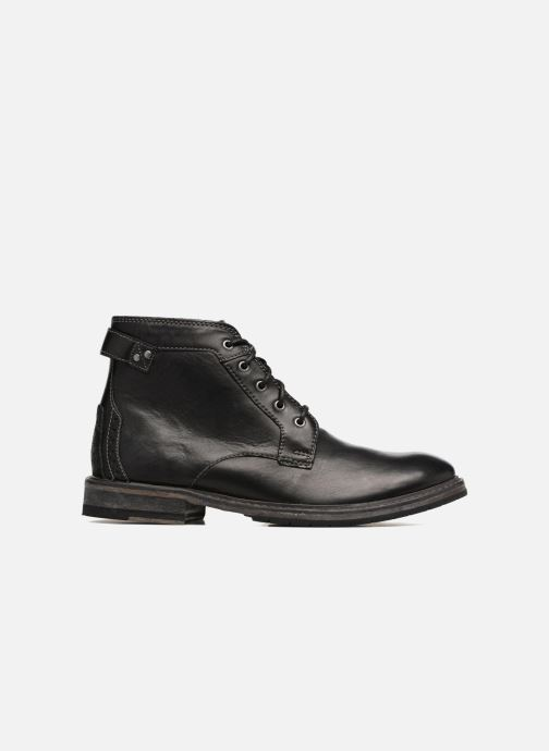 Ankle boots Clarks Clarkdale Bud Black back view