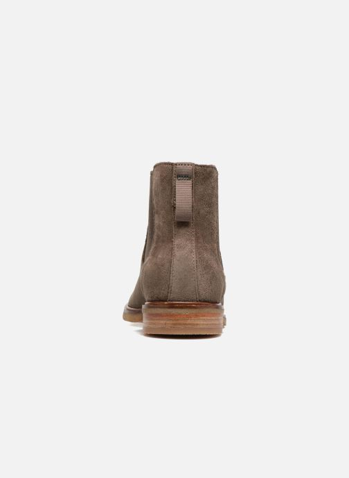 Ankle boots Clarks Clarkdale Gobi Brown view from the right