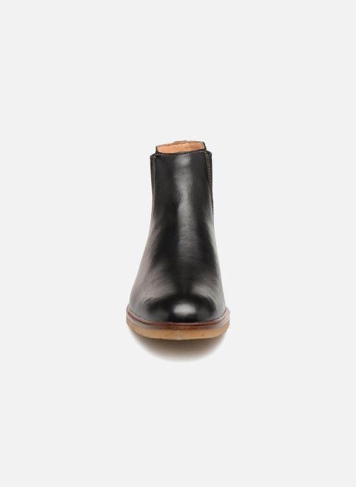 Bottines et boots Clarks Clarkdale Gobi Noir vue portées chaussures