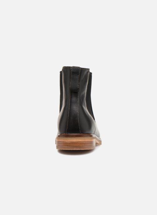 Bottines et boots Clarks Clarkdale Gobi Noir vue droite