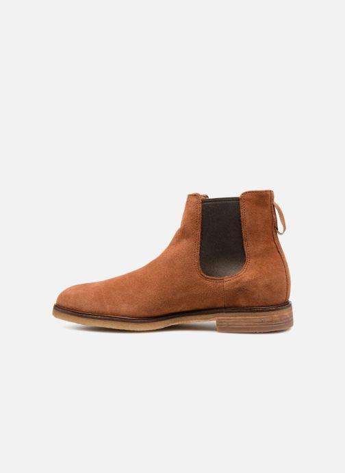 Boots en enkellaarsjes Clarks Clarkdale Gobi Bruin voorkant