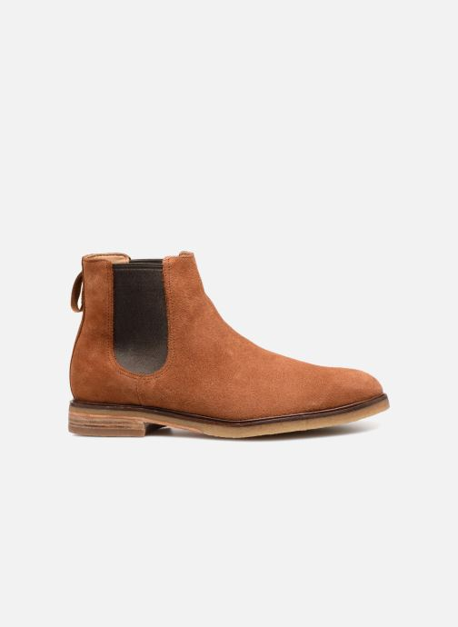 Ankle boots Clarks Clarkdale Gobi Brown back view