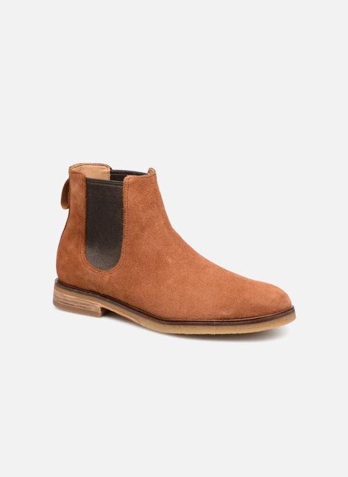 Bottines et boots Clarks Clarkdale Gobi Marron vue détail/paire