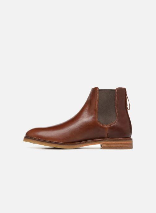 Stiefeletten & Boots Clarks Clarkdale Gobi braun ansicht von vorne