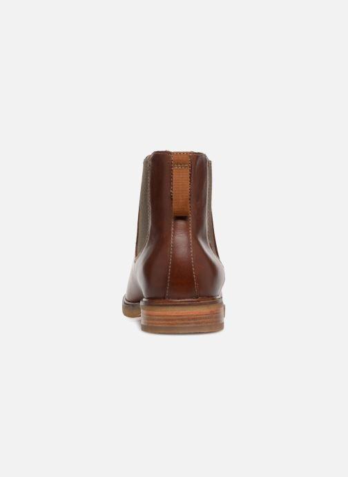 Bottines et boots Clarks Clarkdale Gobi Marron vue droite