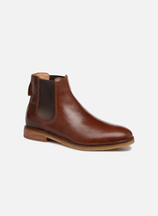 Ankelstøvler Clarks Clarkdale Gobi Brun detaljeret billede af skoene
