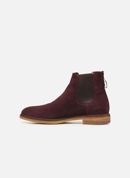 Bottines et boots Clarks Clarkdale Gobi Bordeaux vue face