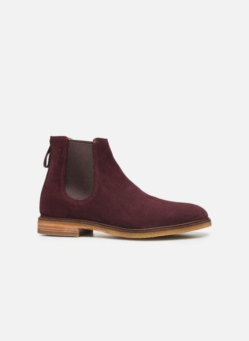 Bottines et boots Clarks Clarkdale Gobi Bordeaux vue derrière
