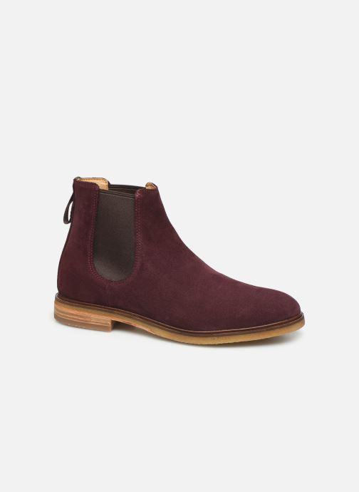 Bottines et boots Clarks Clarkdale Gobi Bordeaux vue détail/paire