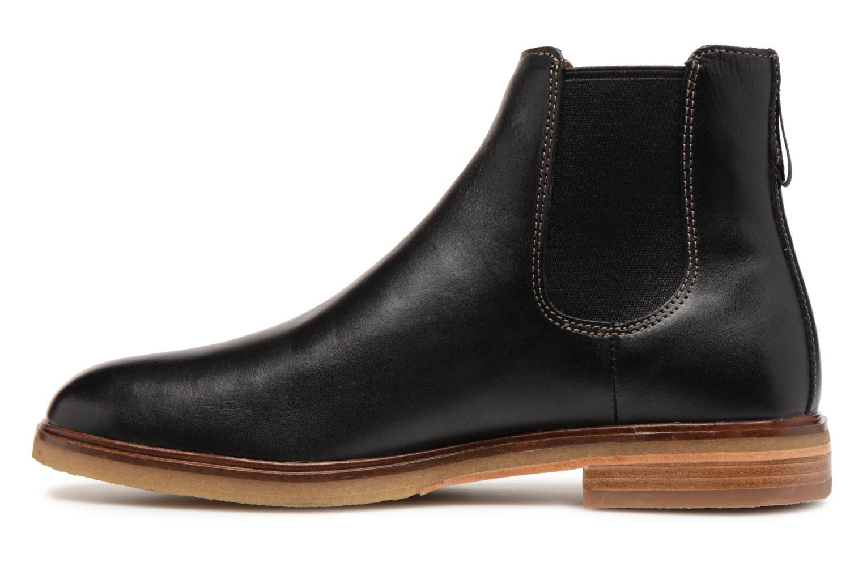 Stiefeletten & Boots Clarks Clarkdale Gobi schwarz ansicht von vorne