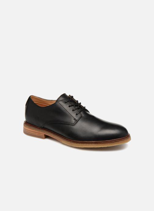Chaussures à lacets Clarks Clarkdale Moon Noir vue détail/paire