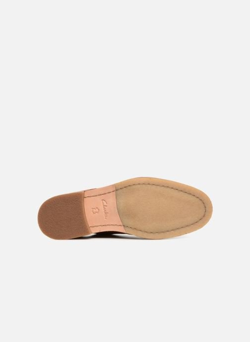 Lace-up shoes Clarks Clarkdale Moon Brown view from above