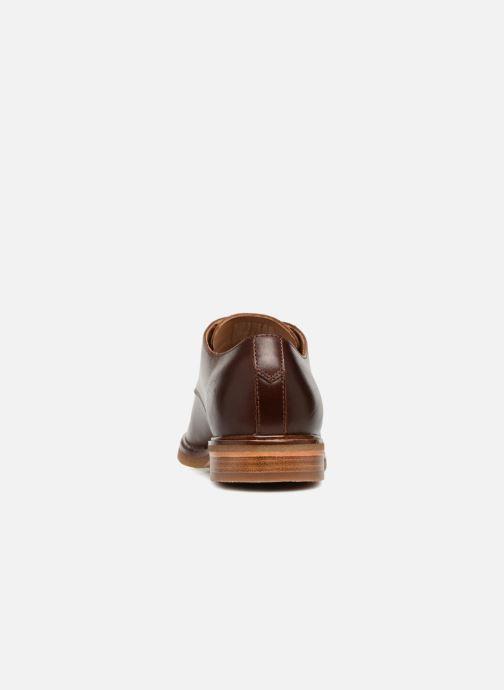 Zapatos con cordones Clarks Clarkdale Moon Marrón vista lateral derecha