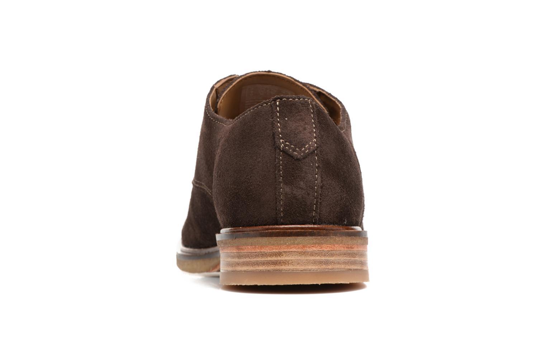 Chaussures à lacets Clarks Clarkdale Moon Marron vue droite