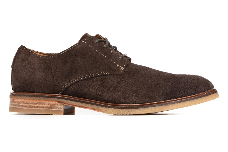 Chaussures à lacets Clarks Clarkdale Moon Marron vue derrière