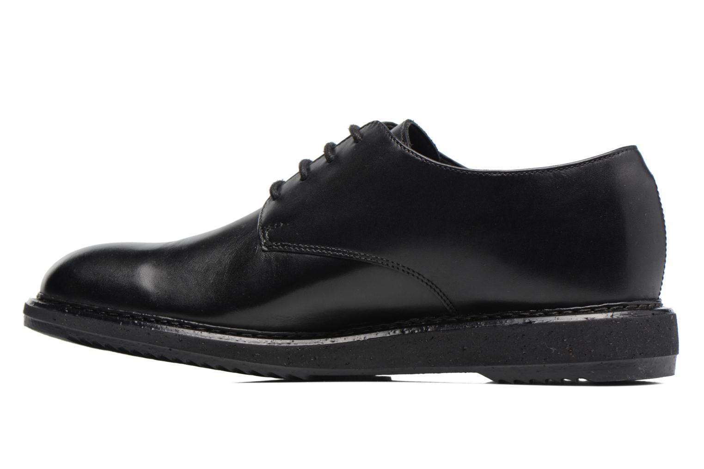 Chaussures à lacets Clarks KenleyWalk GTX Noir vue face