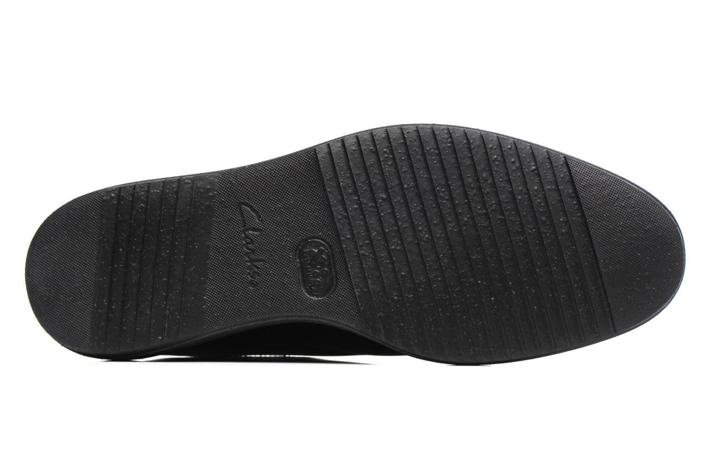 Scarpe con lacci Clarks KenleyWalk GTX Nero immagine dall'alto
