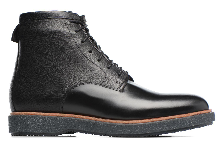 Boots en enkellaarsjes Clarks Modur Hi Zwart achterkant