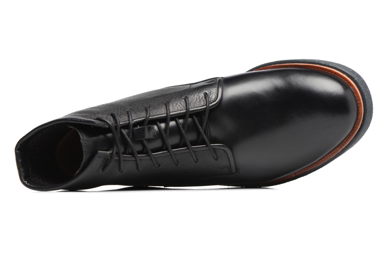 Boots en enkellaarsjes Clarks Modur Hi Zwart links