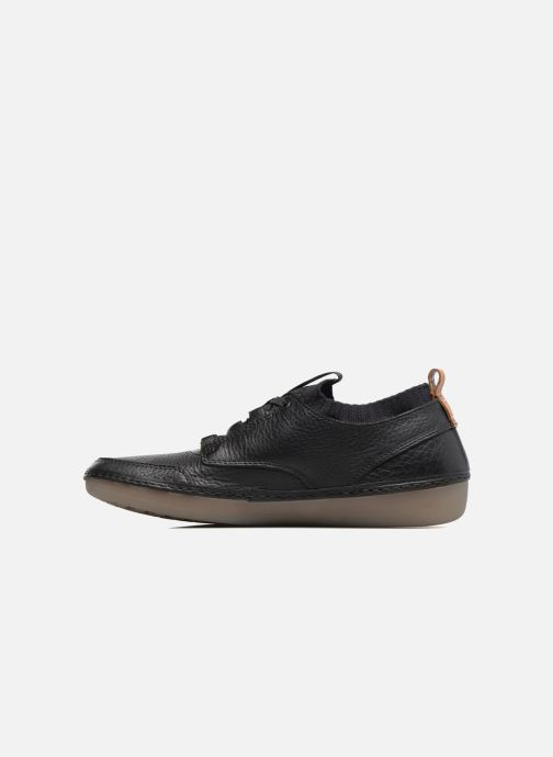Trainers Clarks Nature IV. Black front view