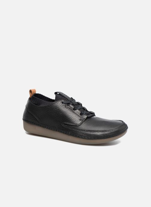Trainers Clarks Nature IV. Black detailed view/ Pair view