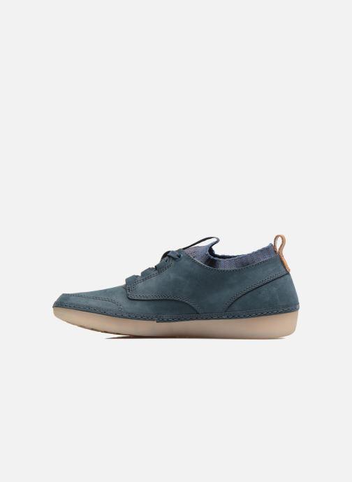 Sneakers Clarks Nature IV. Blauw voorkant