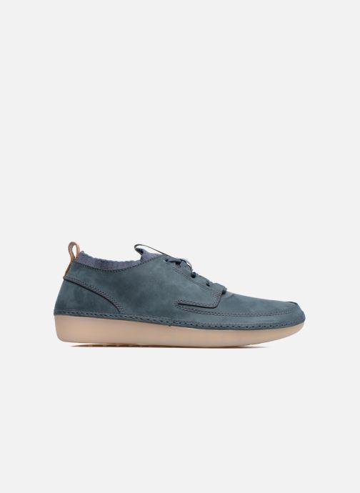 Sneakers Clarks Nature IV. Blauw achterkant