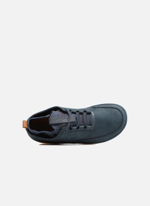 Sneakers Clarks Nature IV. Blauw links