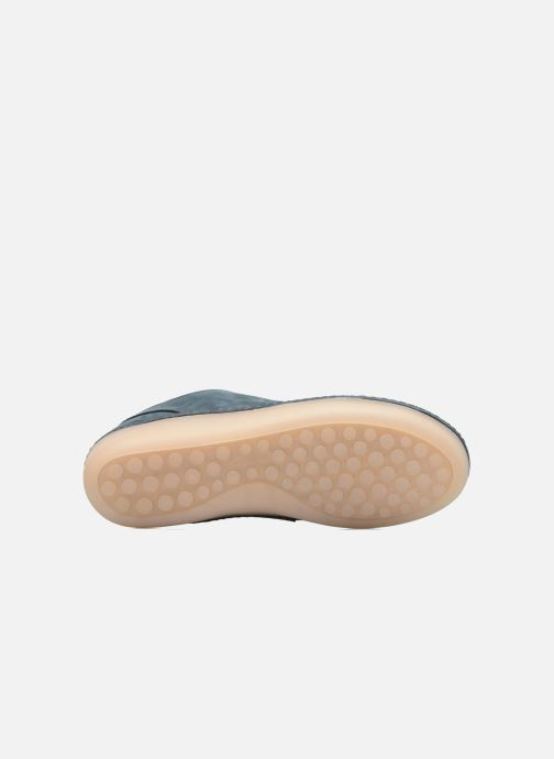 Sneakers Clarks Nature IV. Blauw boven