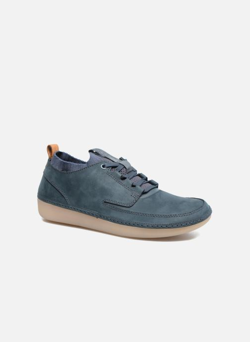 Sneakers Clarks Nature IV. Blauw detail