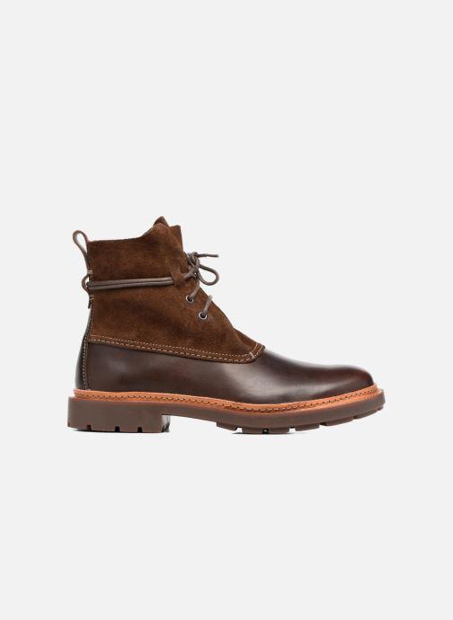 Bottines et boots Clarks Trace Dusk Marron vue derrière