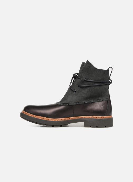 Bottines et boots Clarks Trace Dusk Noir vue face