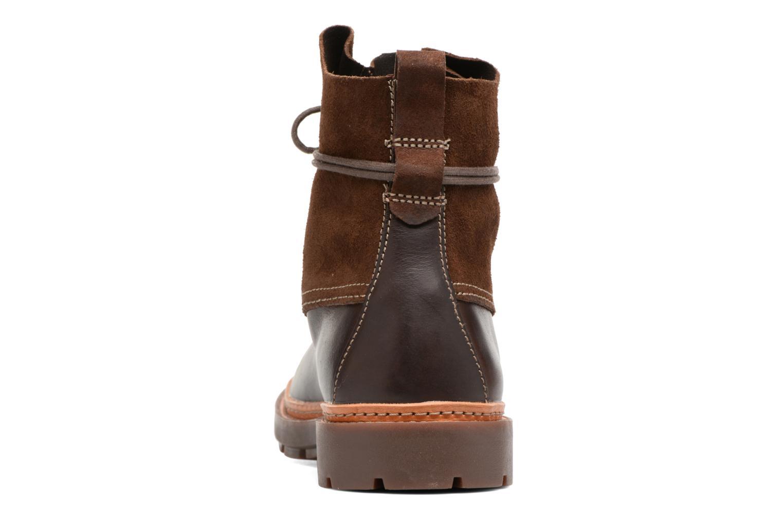 Boots en enkellaarsjes Clarks Trace Dusk Bruin rechts